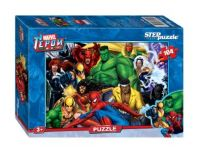 "Пазл 104 элемента MARVEL ""Герои Marvel"", Step Puzzle, артикул 82112"