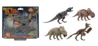 1toy Walking with Dinosaurs шарнирная фигурка 15см, со звуком, пластмасса, на блистере