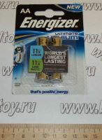 Элемент питания Energizer Ultimate Lithium AA-L91 BL2