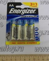 Элемент питания Energizer maximum AA-LR6 3+1 FREE BL4