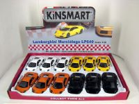 "Kinsmart мет. машинка 5"" Lamborghini LP640 (HKD4. 00 for license label) инд. упак."