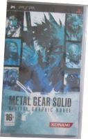 Metal Gear Solid. Digital Graphics Novel (full eng) (PSP) (UMD-case) игра для приставки Sony PSP