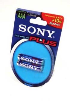 SONY AM4 Stamina plus BL2 AAA